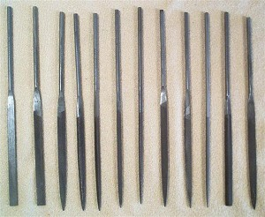 Files Needle Fine Cut 12 piece Set