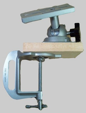 Combination Base Head Clamp and Adapter Plate Heavy Duty