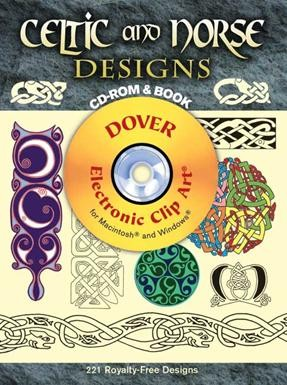 Celtic and Norse Designs CD-ROM and Book