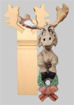 Blank Merry X-Moose Ornament