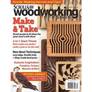 Scrollsaw Woodworking Issue 60 Fall 2015