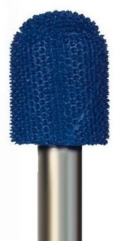 Ball Nose Typhoon, Fine (blue) Grit, 1/4 inch Shank