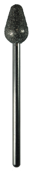 Taper, Rounded, Sapphire, 0.28 inch Dia., 3/32 inch Shank