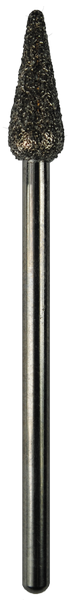 Taper, Pointed, Sapphire, 0.18 inch Dia., 3/32 inch Shank