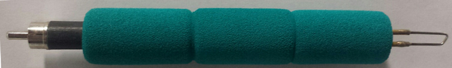 Fixed Tip 17EF, Coarse Hair, Extra Foam Grip