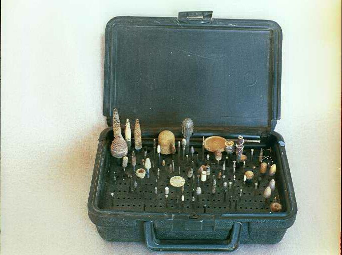 Bur Case, Holds 190 total burs, BH007