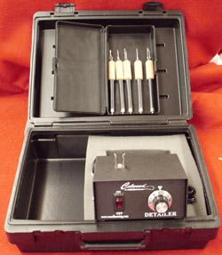Detailer Standard Kit with Fixed Tips