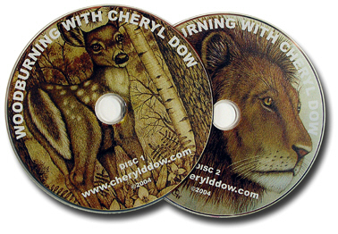 DVD Set Woodburning with Cheryl Dow