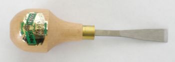 Chisel, Straight Palm, 3/8 inch #1 Sweep, Extra Sharp