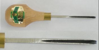 Gouge, Straight Palm, 1/16 inch #11 Sweep, Extra Sharp