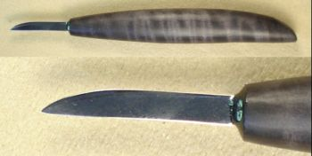 Knife, Bench, 1 3/16 - 1 1/2 inch x 7/32 inch blade