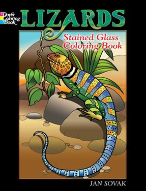 Lizards Stained Glass