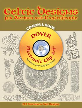 Celtic Designs for Artists and Craftspeople CD-ROM and Book