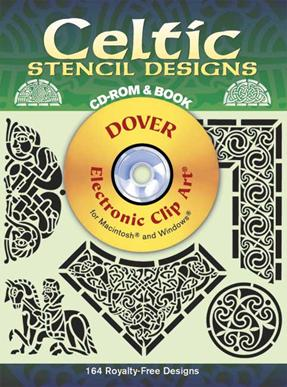 Celtic Stencil Designs CD-ROM and Book