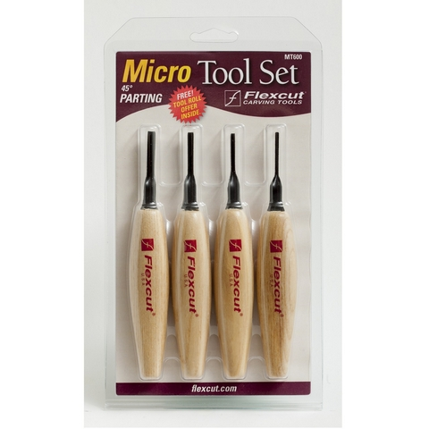 Micro Tool Set, V-Tool, 1.5mm 2mm 3mm 4mm, 45 Degree, MT600