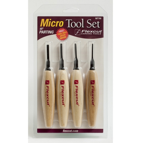 Micro Tool Set, V-Tool, 1.5mm 2mm 3mm 4mm, 60 Degree, MT700