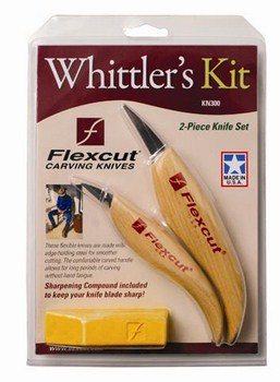 Whittler's Kit, 2 piece, KN300