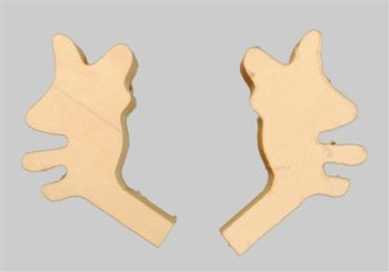 Blank Antler for Moose items 5405 and 5406 1 Pair