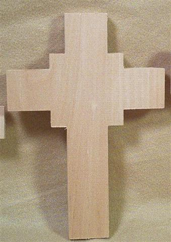 Cross Medium, 7 1/4 x  5 x 1/2 inches