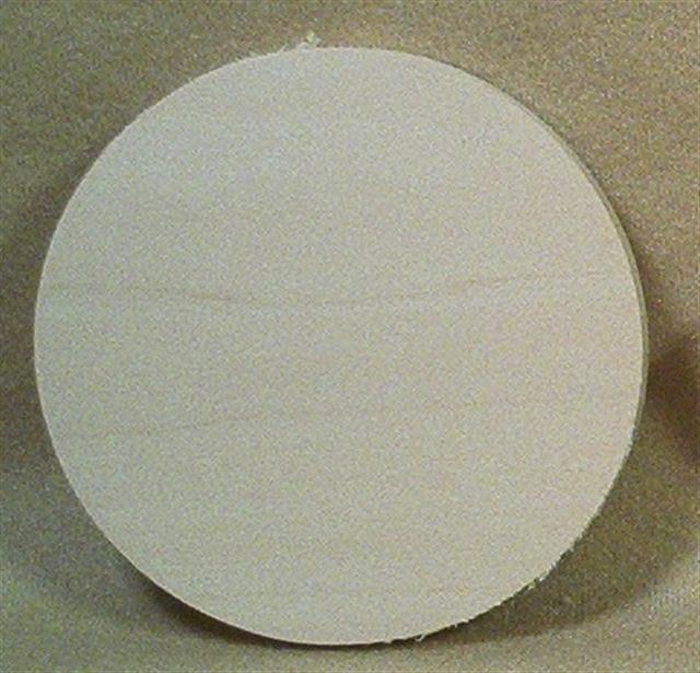 Large Round Ornament Blank