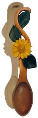Spoon, Sunflower, Basswood