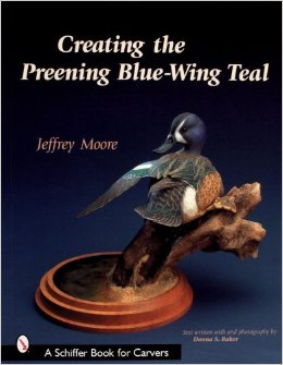 Creating the Preening Blue Wing Teal