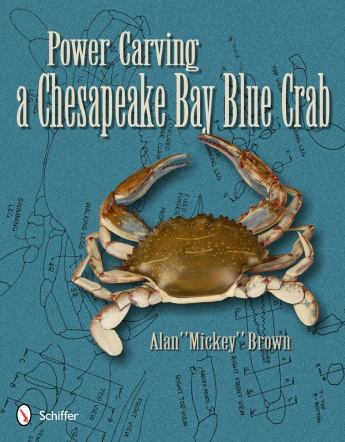 Power Carving Chesapeake Bay Blue Crab