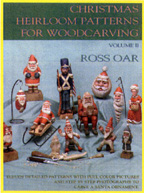 Christmas Heirloom Patterns for Woodcarving, Volume II