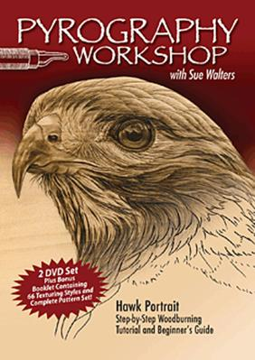 DVD-Pyrography Workshop with Sue Walters
