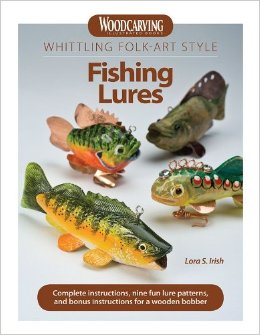Whittling Folk-Art Style Fishing Lures
