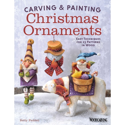 Carving & Painting Christmas Ornaments