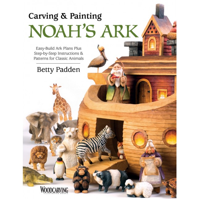 Carving and Painting Noah's Ark