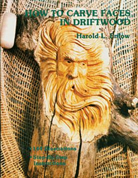 How to Carve Faces in Driftwood Enlow