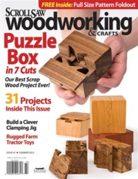 Scroll Saw Woodworking & Crafts - Issue 47 - Summer 2012