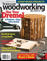 Scroll Saw Woodworking & Crafts - Issue 50 - Spring 2013