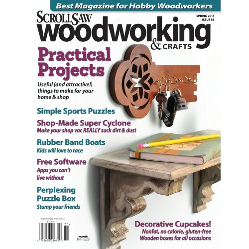 Scrollsaw Woodworking Issue 58 Spring 2015