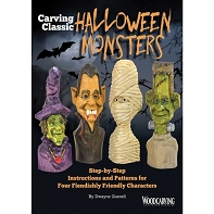 Carving Classic Halloween Monsters