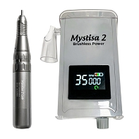 Mystisa 2 Battery Operated Pocket Controller with Mystisa Handpiece, 1/8 inch collet and 3/32 inch adapter sleeve
