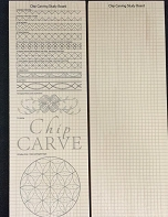 Chip Carving Study Board, Two-Sided