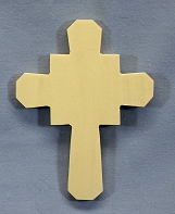 Small Celtic Cross Ornament, Single, 4 x 5 3/4 x 1/4 inches