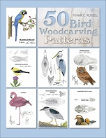 50 Bird Woodcarving Patterns