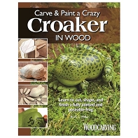 Carve & Paint a Crazy Croaker in Wood