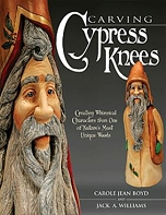 Carving Cypress Knees