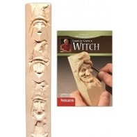 Witch and Holiday Caricatures Study Stick Kit